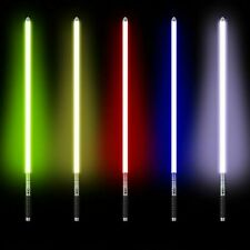 More details for star wars lightsaber replica force fx heavy dueling rechargeable metal handle