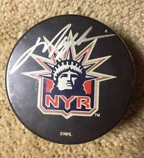 Mark Messier Signed Autographed Puck NY Rangers Steiner Sports NHL Authentic