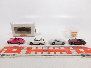 CN262-0,5 #4x wiking H0 / 1:87 Car Porsche: 165 Carrera +162 911 Etc. ,Mint + 2x