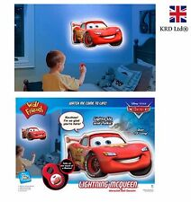 DISNEY CARS Talking Wall Friend Decal Interactive Toy Gift With LIGHTS + SOUNDS
