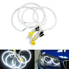 BMW E46 3 Series Angel Eyes LED Light CCFL Halo Rings Non-Projector Lamps White