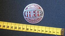 FELBER  Beiwagen- Emblem , Vintage , Oldtimer