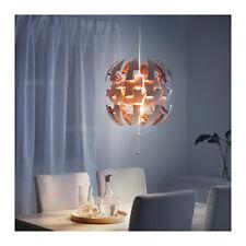 """NEW IKEA PS 2014 PENDANT LAMP 14"""" DIA - LIKE DEATH STAR - WHITE,COPPER"""