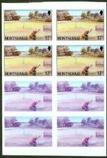 Montserrat 1986 Golf $1.15 PROOF BLOCKS/glossy plastic
