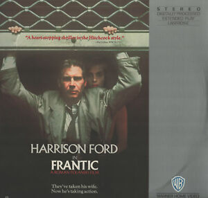 Frantic Harrison Ford Laserdisc Movie Set (Laserdisc) VG+ Discs