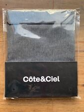 "Cote&Ciel Fabric Pouch for iPad in Black Melange Eco-Yarn (Fits 7 X 9.5"" Tablet)"