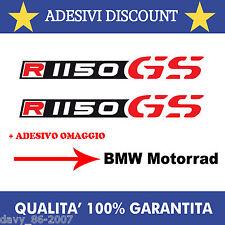 ADESIVI BMW R1150GS + OMAGGIO STICKER DECAL R1150 GS BMW BICOLORE