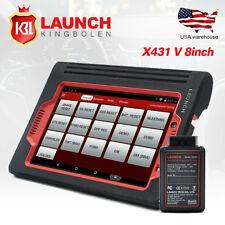 LAUNCH X431 V Pro 8inch Tablet Full System OBD2 Scanner Auto Car Diagnostic tool
