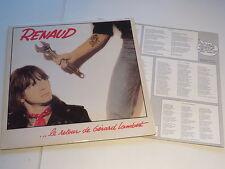 RENAUD - Le Retour de Gerard Lambert ..Insert..Vinyl: mint- /  Cover:excellent