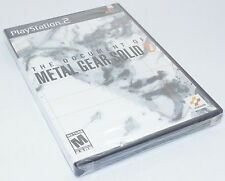 Sony Playstation 2 PS2 Document of Metal Gear Solid 2 MGS2 - Factory Sealed New