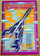 Eric Clapton Steve Winwood 2010 Tour Poster