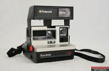 Vintage Sun 600 LMS Polaroid Instant Film Camera Pop Up Flash Working Order