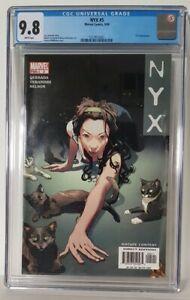 NYX #5 - CGC 9.8 - Josh Middleton Cover - Marvel Comics 2004