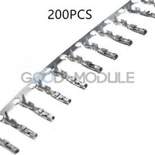 200PCS Dupont Jumper Female Pin Connector Terminal Wire Cable Housing 2.54mm
