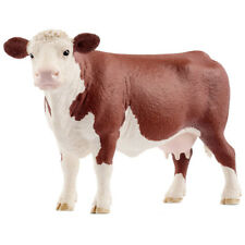 Schleich Farm World Hereford Cow Collectable Animal Figure