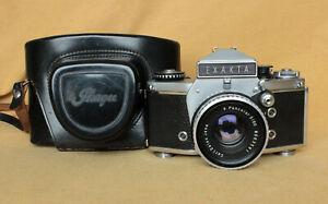 Exakta VX1000 VX 1000 German Ihagee SLR camera, CLA Zeiss Pancolar Prism MINT-