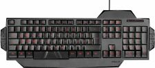 Speedlink RAPAX Gaming Keyboard Tastatur beleuchtet QWERTZ LED PC USB 3-7-2-3100