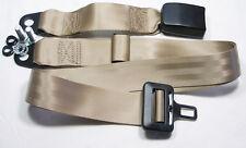 2 punti cintura di sicurezza, bacino Cintura Beige, FIAT 124 berlina, special, SEATBELT