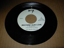 "DEFEX psycho surfer / machine gun love ( rock ) 7"" / 45 - wacker records - RARE"