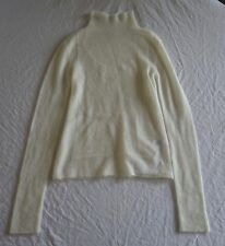 ~ NWT CELINE IVORY MOHAIR KNIT TURTLE NECK SWEATER (OHHH SO CHIC!)~ S