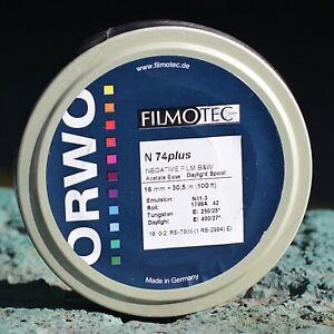 16MM FILM - ORWO N74 Single Perf - 100 FT (30.5M)