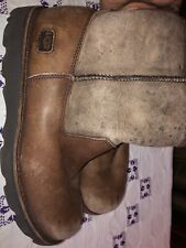 Women's Ugg Brown Boots, Size 8