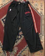 Vtg Nike Atlanta Hawks Warm Up Pants Nba Mens Size L Large Jersey Champion