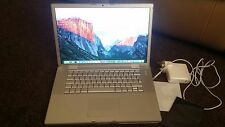 """Apple MacBook Pro 17"""" 2.4GHz  4GB  1TB HD Laptop Customised, Mint Condition"""