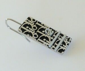 Dior Trotter Earring Black Silver