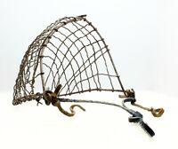 Vintage Primitive  Wire Horse Muzzle Basket