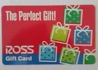 ROSS gift card Circa Early 2000s USED Has Collectible Value Only