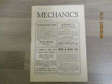 October 31st 1947, MECHANICS, Petrol Powered Saw, Hand Held Tachometer.