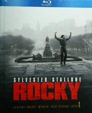 ROCKY (1976) Blu-ray with Booklet Sylvester Stallone Talia Shire SEALED Blu-ray