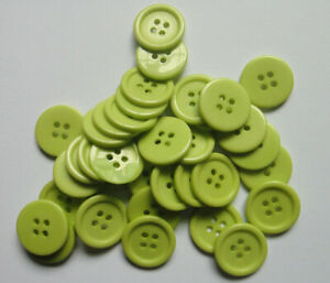 """20mm 0.78"""" 50pcs 4-Holes Round Resin Sewing Clothes Buttons Diy Craft Sell Off"""