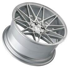 19X8.5 +20 Klutch KM20 5x114.3 Silver Wheel Fits Ford Mustang Gt Wrx Sti 5X4.5