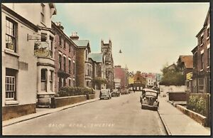 OSWESTRY postcard Salop Road Pub & Regal Cinema