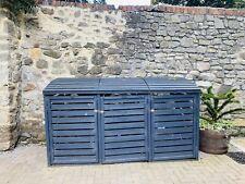 More details for triple wheelie bin storage