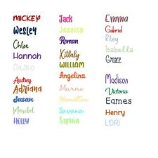 Easy to Order Custom Personalized Sticker/Decal/Vinyl Name/Lettering - FREE SHIP
