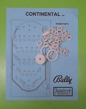 1980 Bally Continental pinball / bingo rubber ring kit