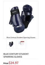 Century Sparring Gloves Blue (Adult Small) Karate Ufc TaeKwonDo Boxing Judo Mma