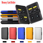 Memory Card Holder Micro SD SDHC SDXC Protective Storage Case Aluminum 16 slots