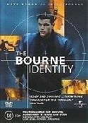 The Bourne Identity (2002)Matt Damon DVD PAL FILM