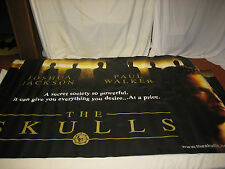 The Skulls Joshua Paul Walker Official Theatrical Movie Banner 115 X 53 RARE