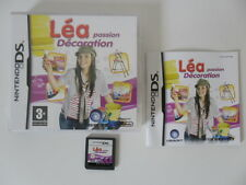 LEA PASSION DECORATION - NINTENDO DS - JEU DS DS LITE DSI COMPLET