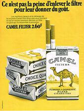 PUBLICITE  1971   CAMEL  cigarettes