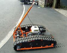 PERSONAL TRACKED VEHICLE, TRACKED GO-KART. PLANS TO BUILD YOUR OWN.