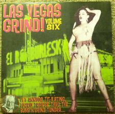 LAS VEGAS GRIND Vol 6 LP Jaguars El-Capris Lonnie Brooks Kinfolks back grave NEW