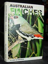 Australian Finches, Care & Feeding, Aviaries, Diseases, History