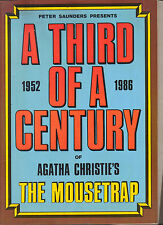 THE MOUSETRAP - Agatha Christie - A Third Of A Century - Peter Saunders + Prog