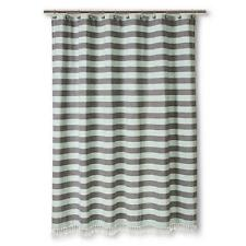 Fabric CurtainShower Curtains   eBay. Black And Cream Shower Curtain. Home Design Ideas